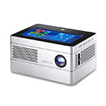Meet Aiptek iBeamBlock, a stackable, LEGO-like projector with a screen and a battery