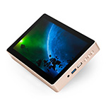 Meet Gole1 Plus, the mini PC with an 8 inch touch screen and an 6000 mAh built-in battery
