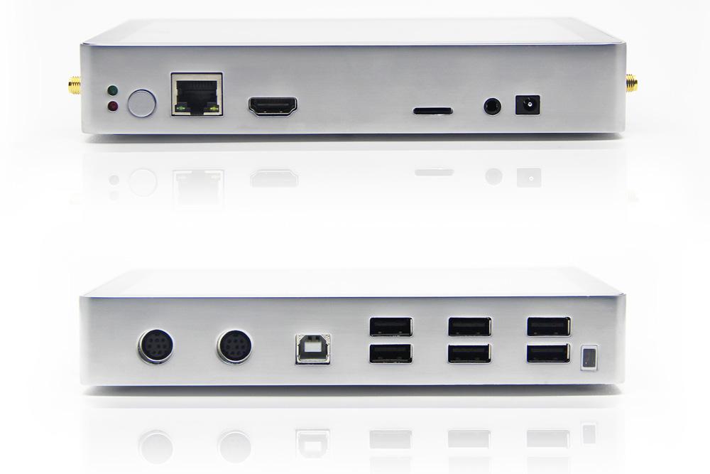 CubieTech CubieAIO-A20 mini pc ports