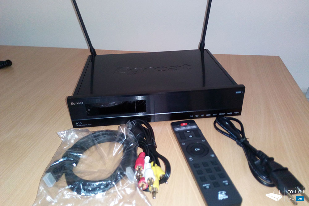 Egreat A10 package