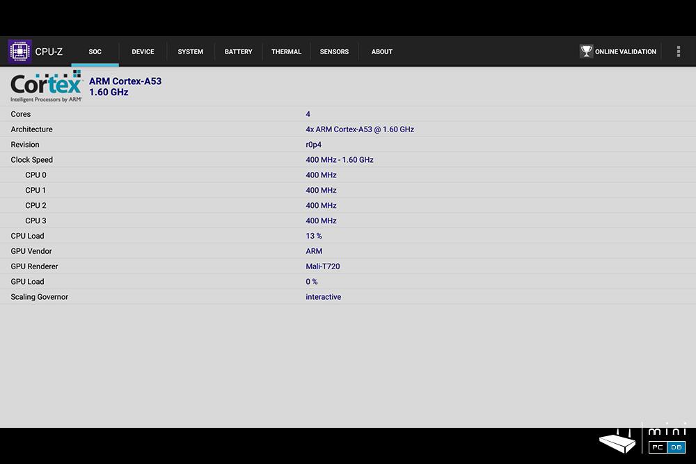 Egreat A5 CPU-Z
