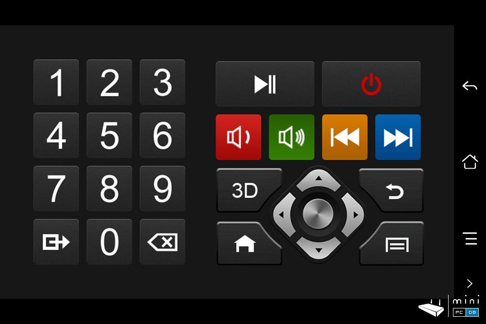 Egreat A5 HiControl remote