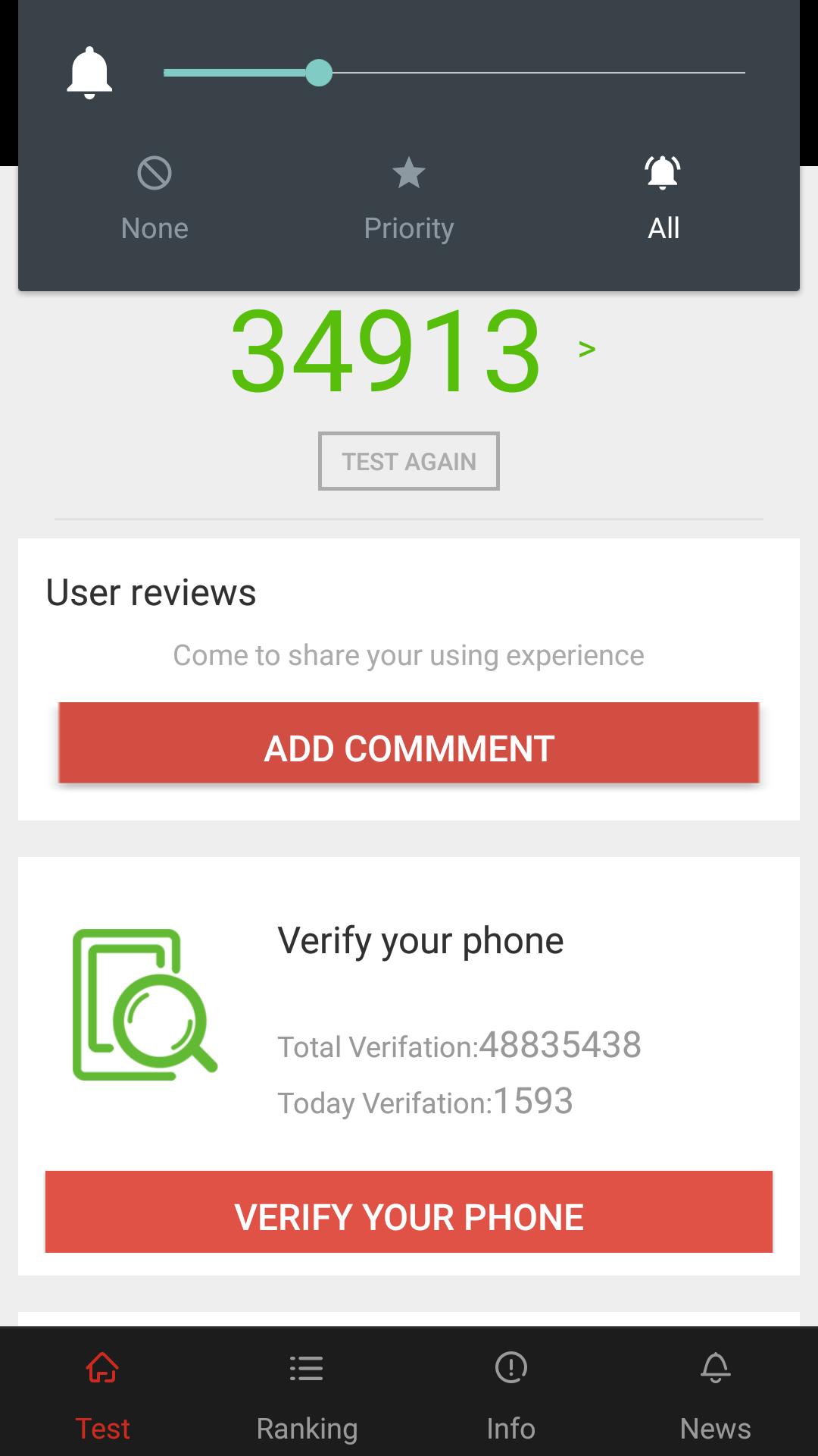 Elephone S3 AnTuTu benchmarks