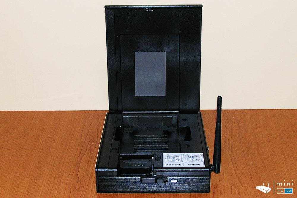 Himedia Q10 Pro HDD tray