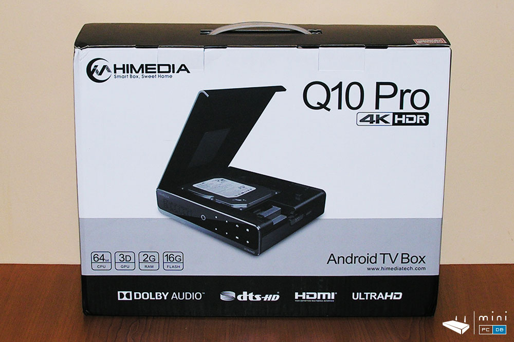 Himedia Q10 Pro unboxing