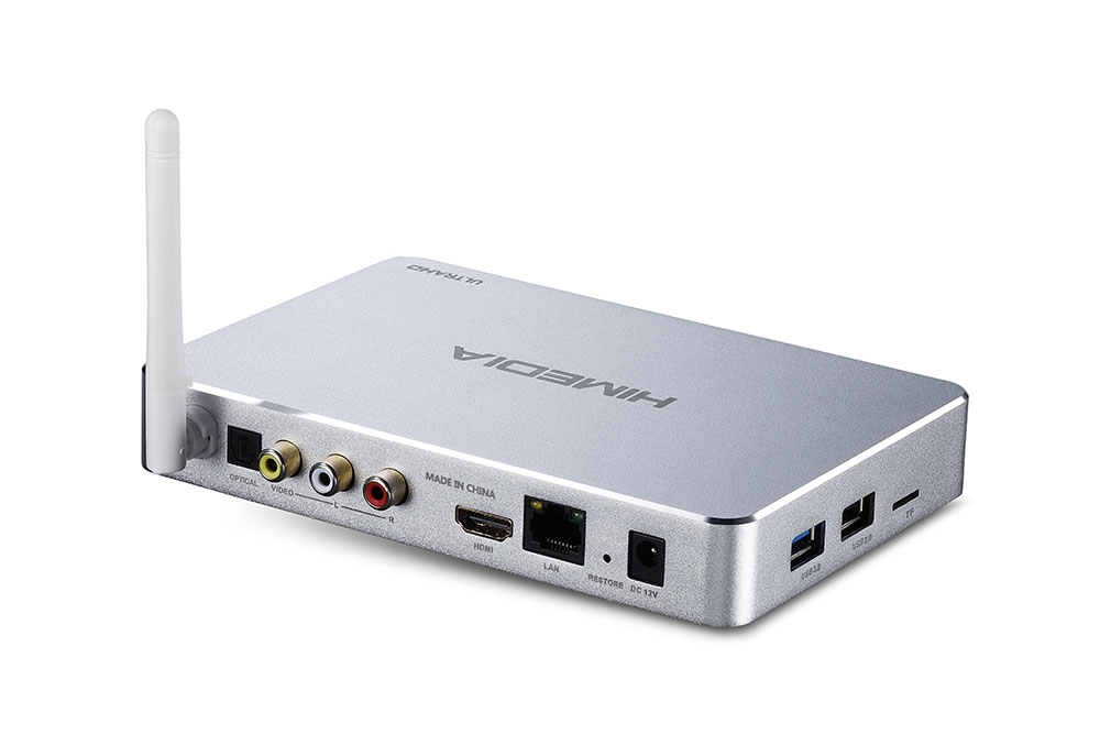 Himedia Q5 Pro Mini PC - connectors