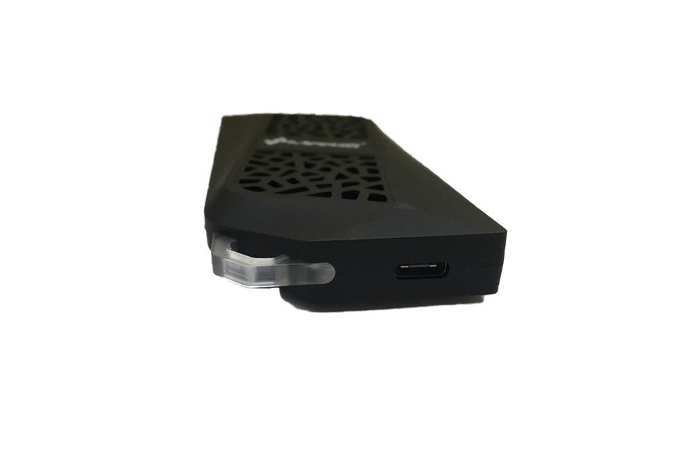 MeeGoPad T08 Mini PC, bottom view