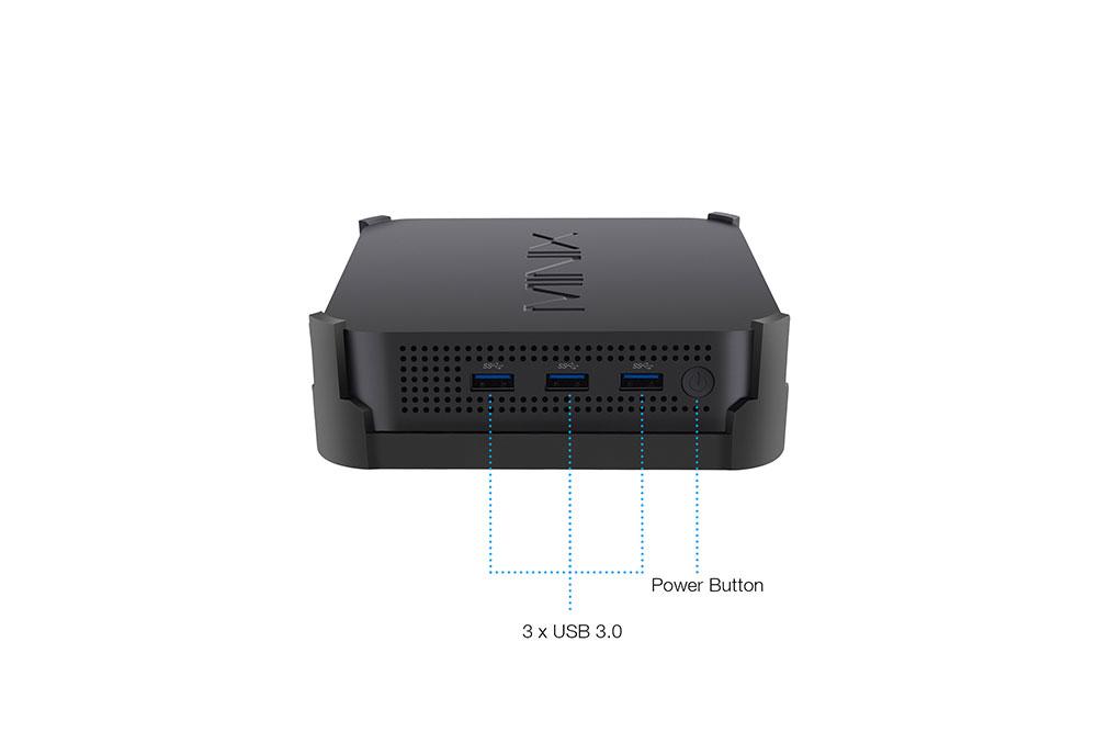 MINIX NEO J50C-4 has 3 USB 3.0 ports