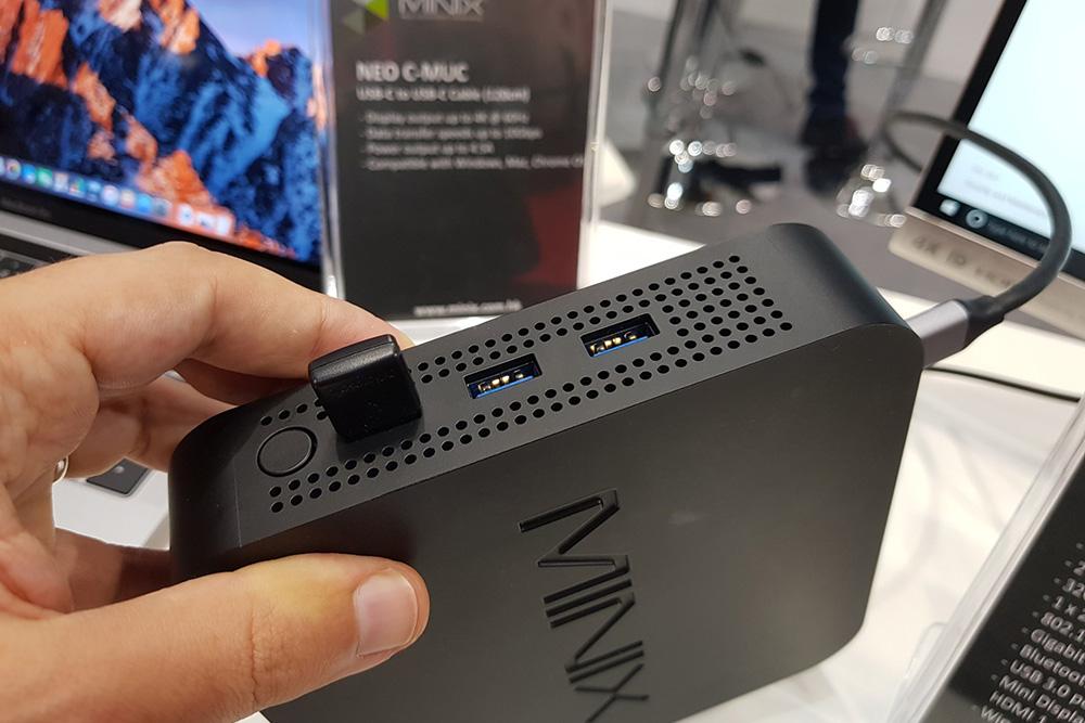 Minix Neo N42C-4 ports