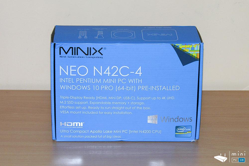 Minix NEO-N42C-4 - box