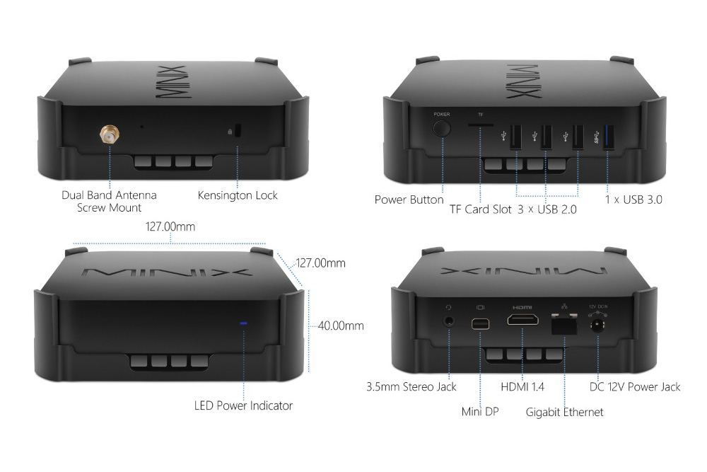 Minix NEO-Z83-4 Pro VESA