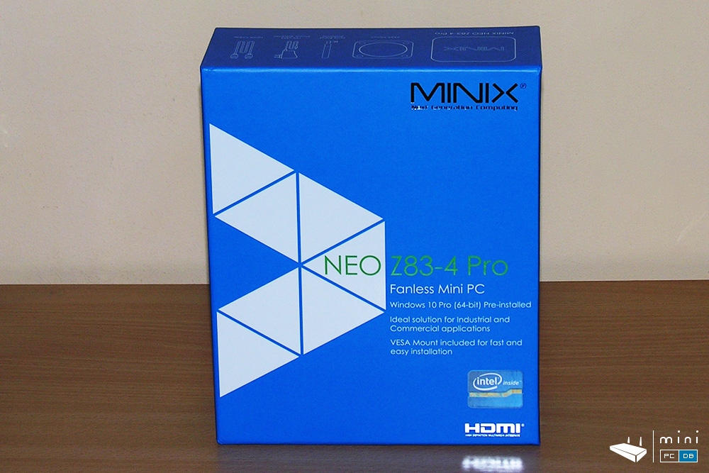 Minix Neo Z83-4 Pro unboxing