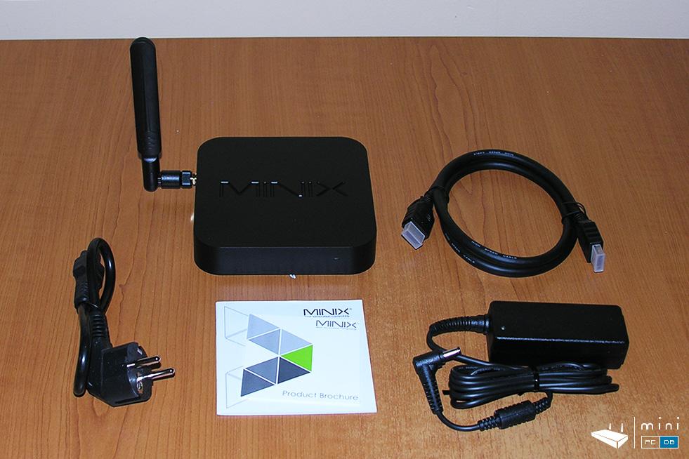 Minix Neo NEO-Z83-4 box contents