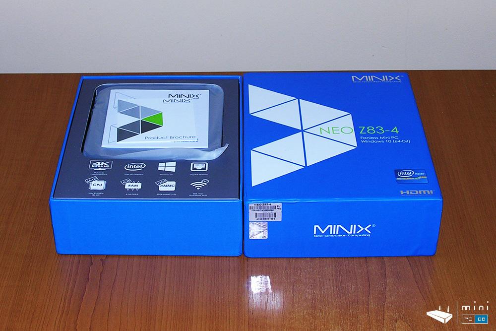 Minix Neo NEO-Z83-4 unboxing