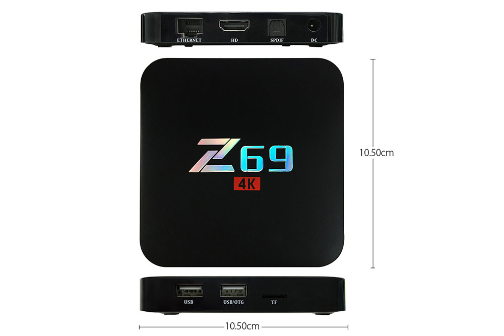 Mov Z69 Amlogic S905X mini PC