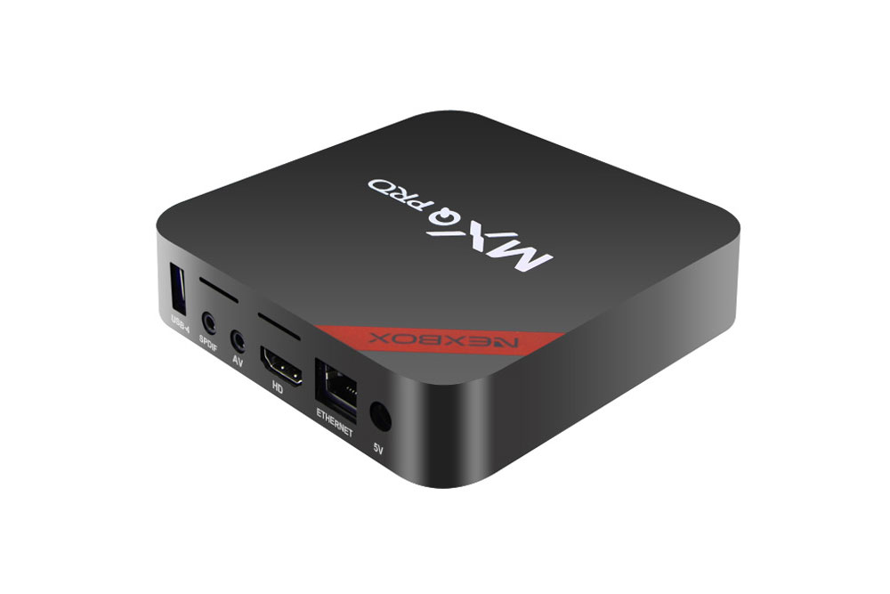 Nexbox MXQ-Pro Mini PC back