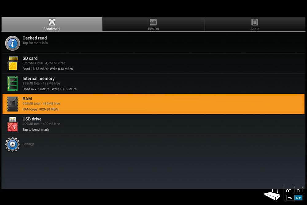 Nexbox N9 A1 SD benchmark