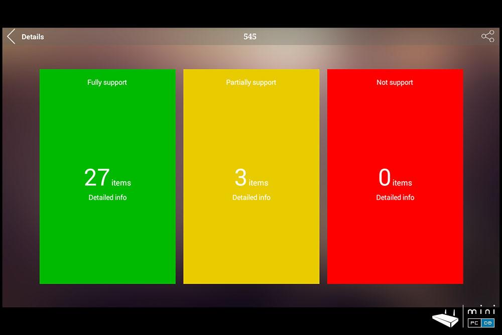 Nexbox N9 AnTuTu Video tester