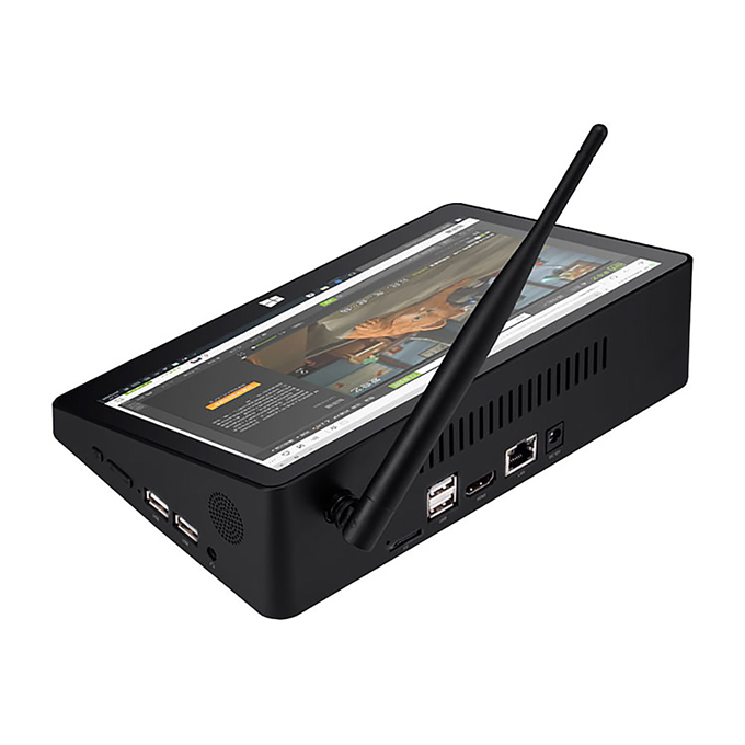 PIPO X9S Mini PC side view