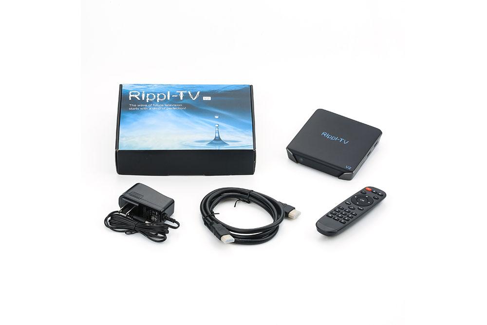 Rippl-TV V2 unboxing