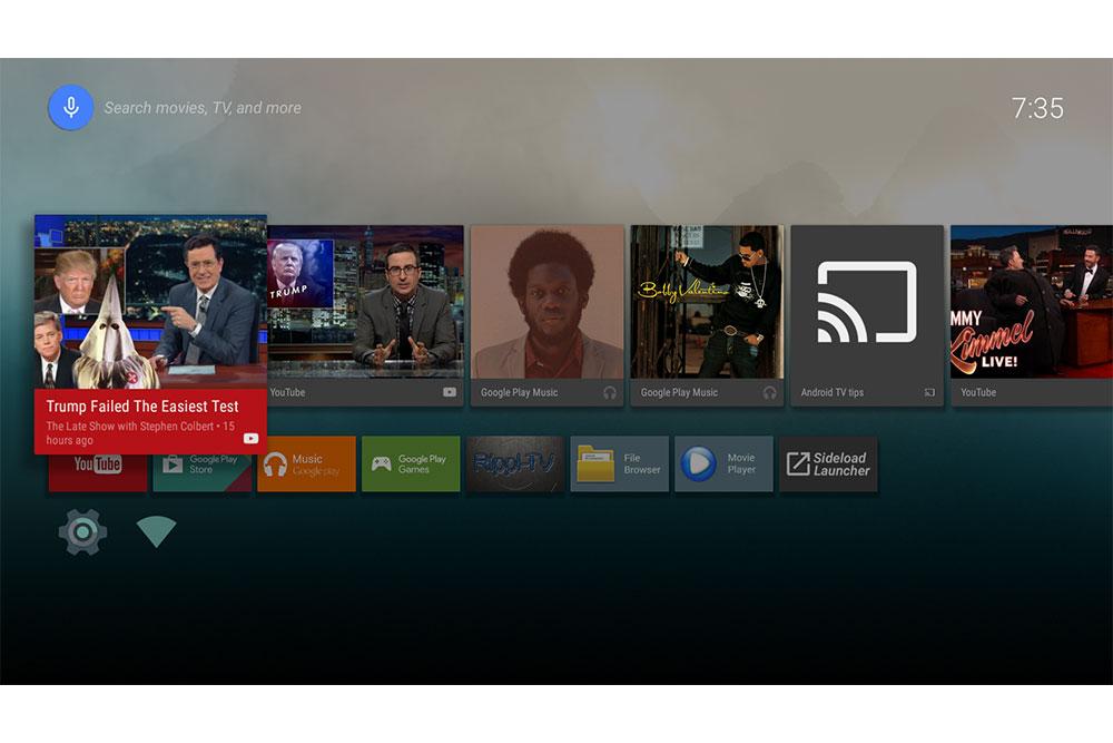 Rippl-TV V2 AndroidTV launcher