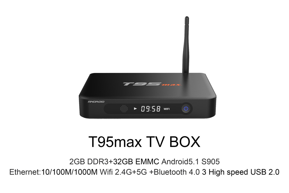 Sunvell T95-Max Mini PC - Amlogic S905