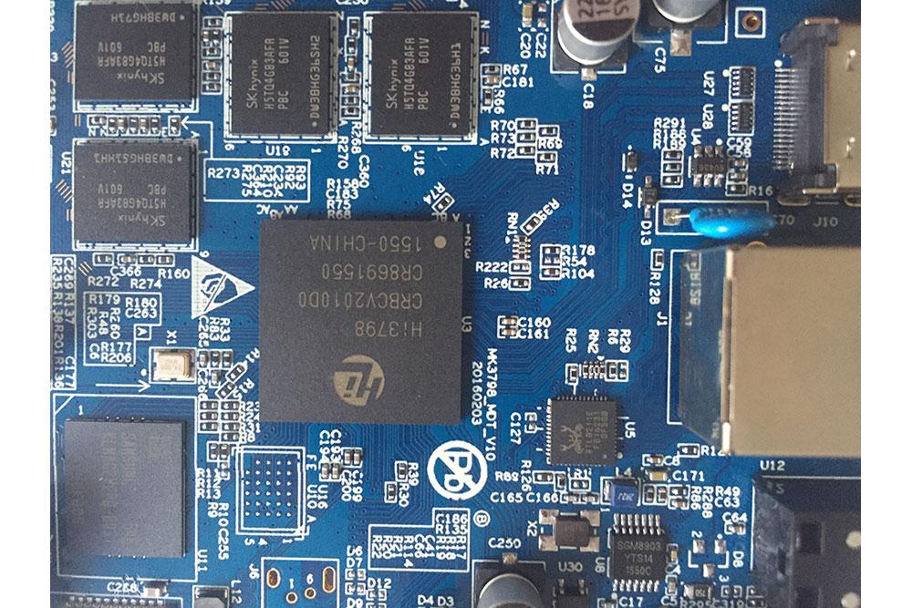 UyeSee S500 HiSilicon Hi3798C V200 PCB