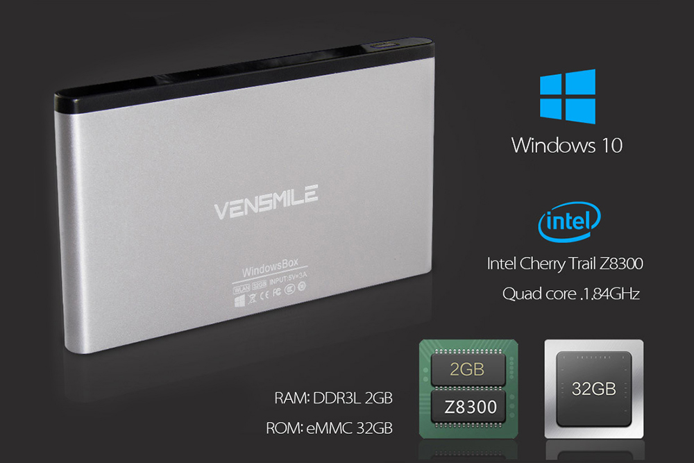 Vensmile IPC002 Plus specs