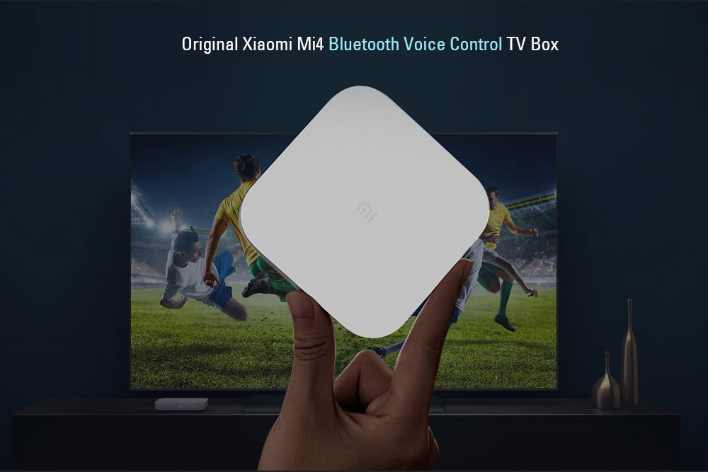 New Amlogic mini PC from Xiaomi - Mi Box 4 has voice control