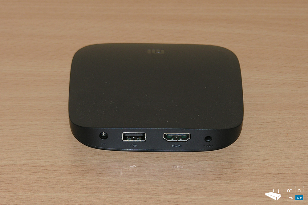 Xiaomi Mi Box - back view