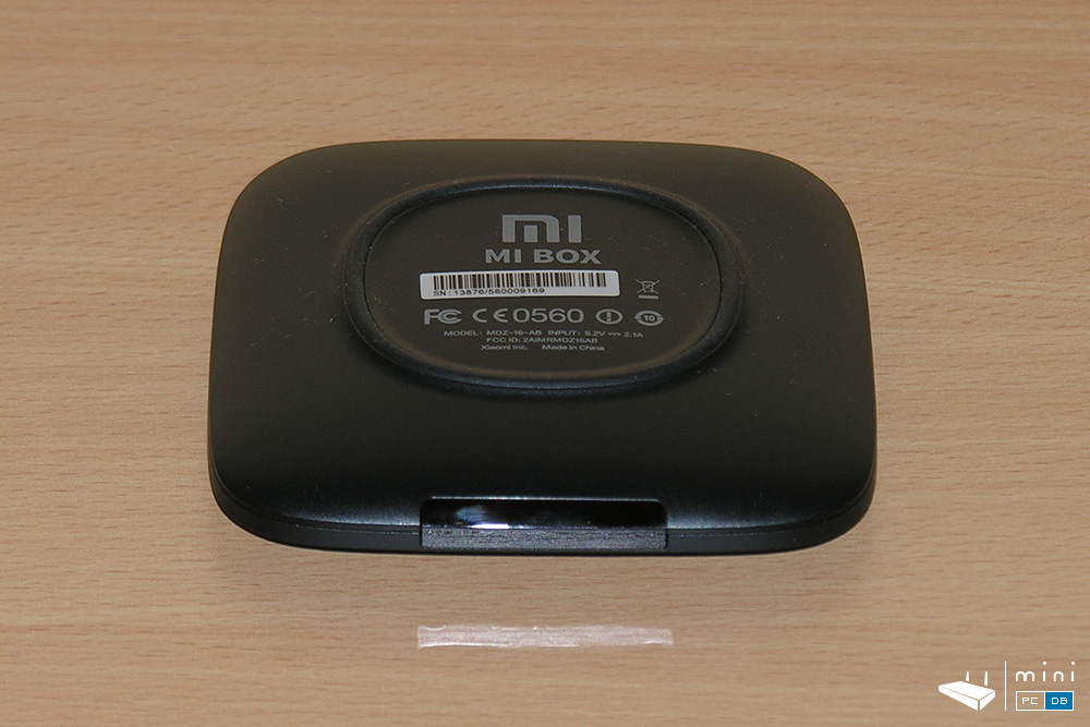 Xiaomi Mi Box - bottom view