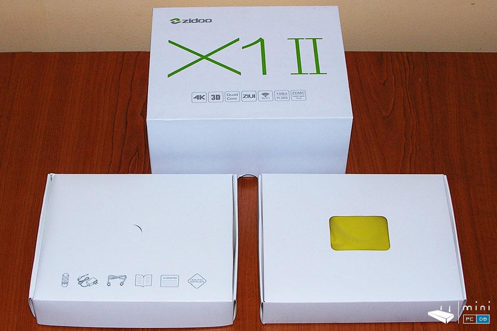 Zidoo X1-II unboxing
