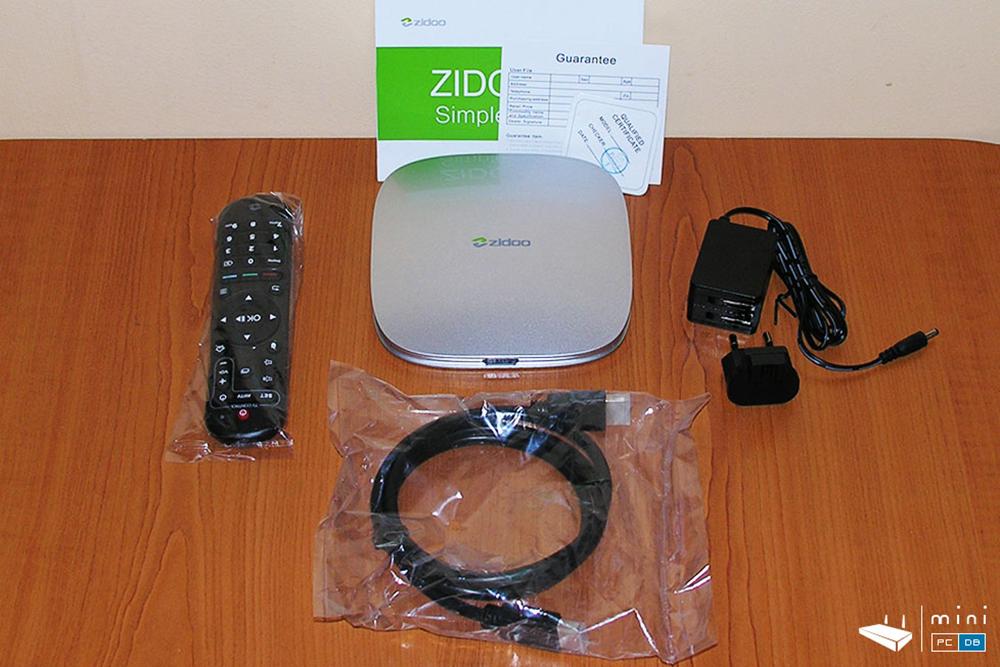 Zidoo X5 accessories