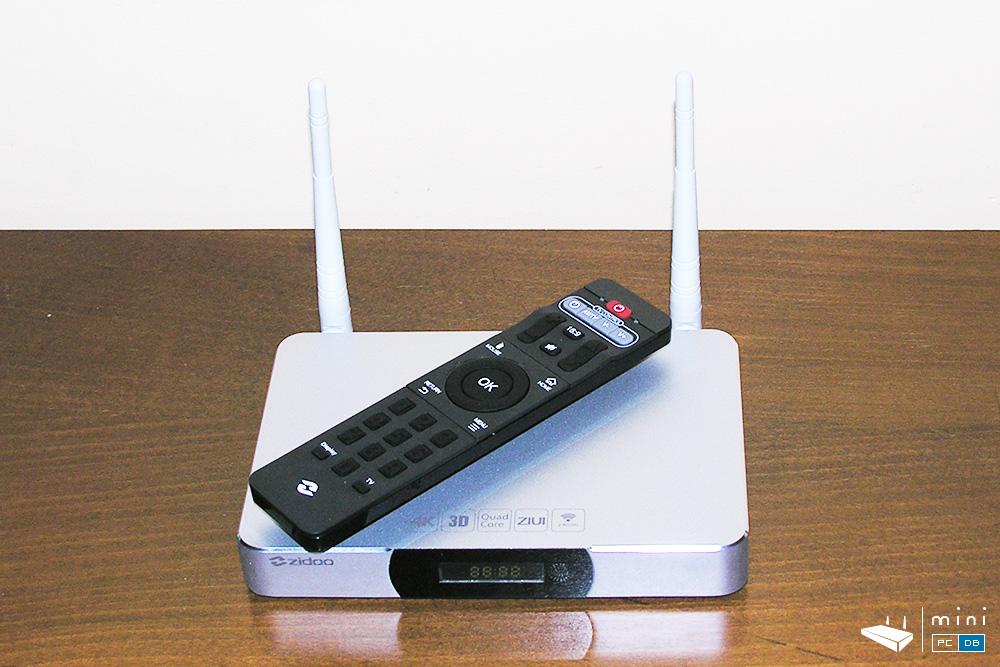 Zidoo X9 IR remote