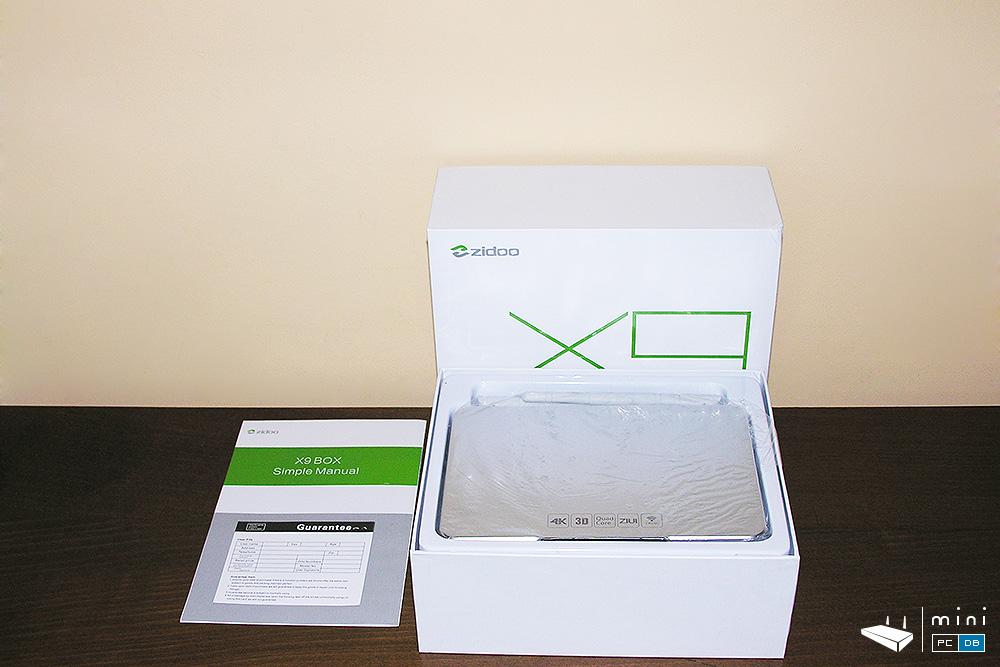 Zidoo X9 unboxing