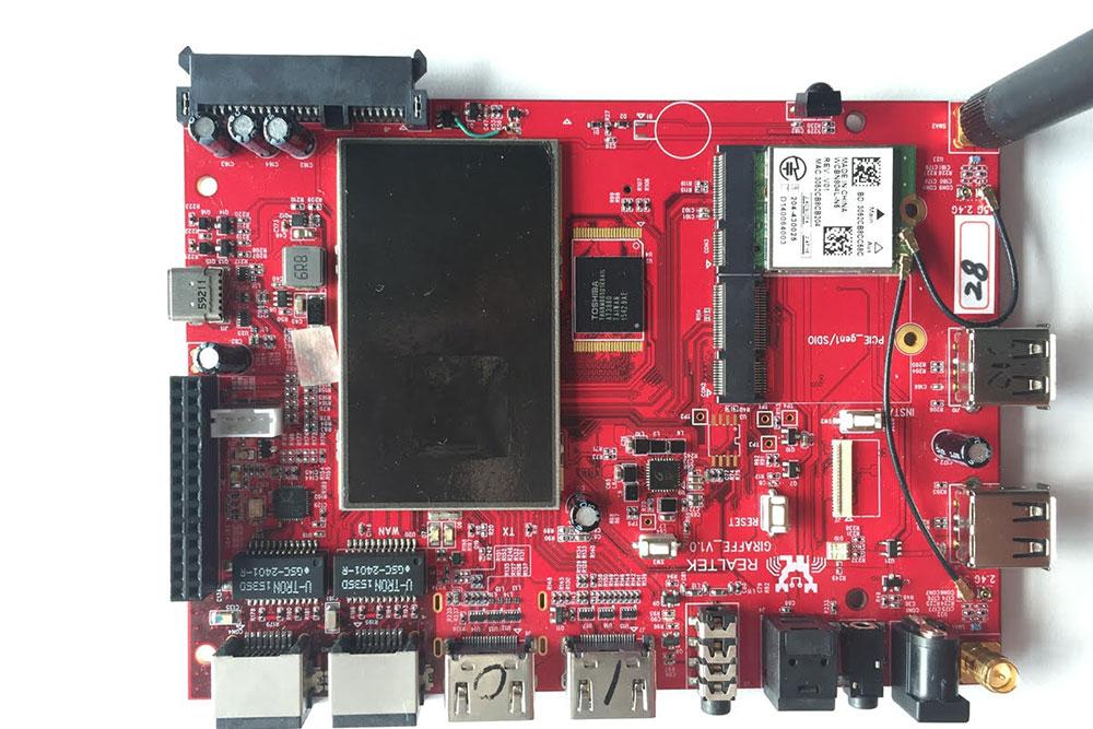 Zidoo X9S PCB