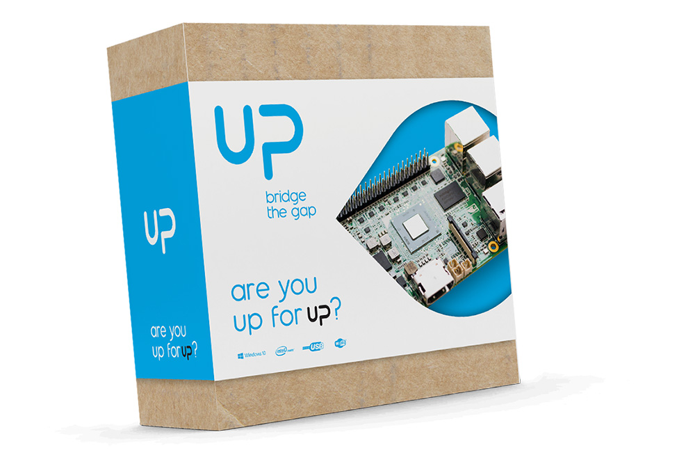 Aaeon Up dev board box
