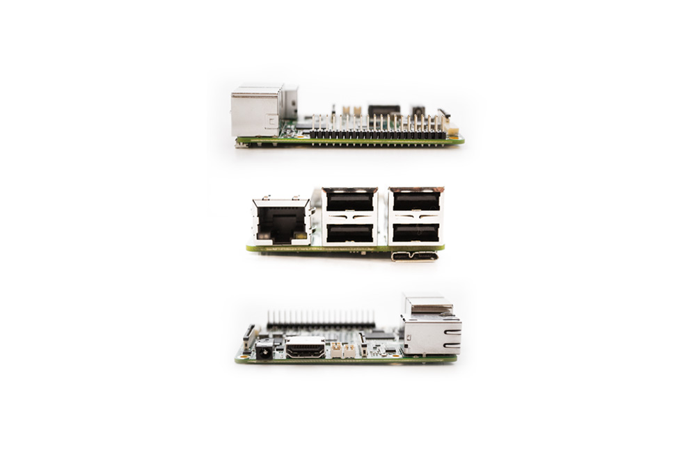 Aaeon Up dev board sideview