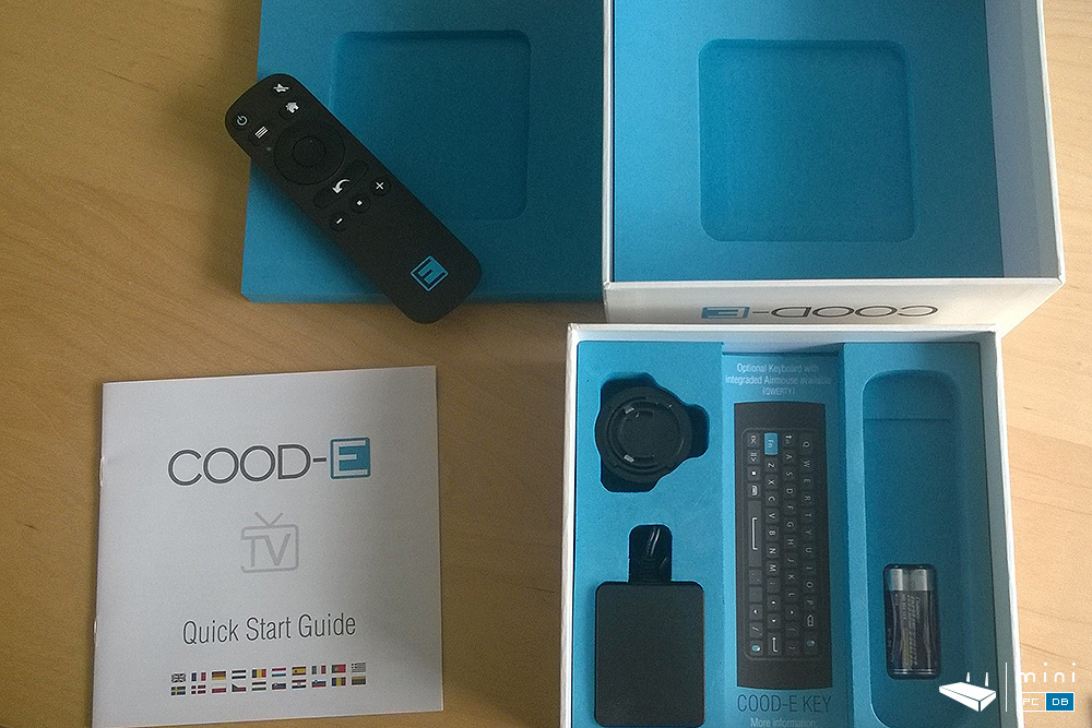COOD-E TV: what's in the box