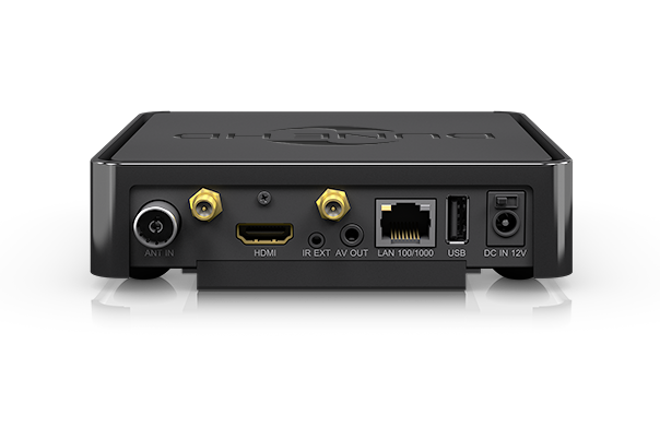 DuneHD 4K Solo Mini PC back