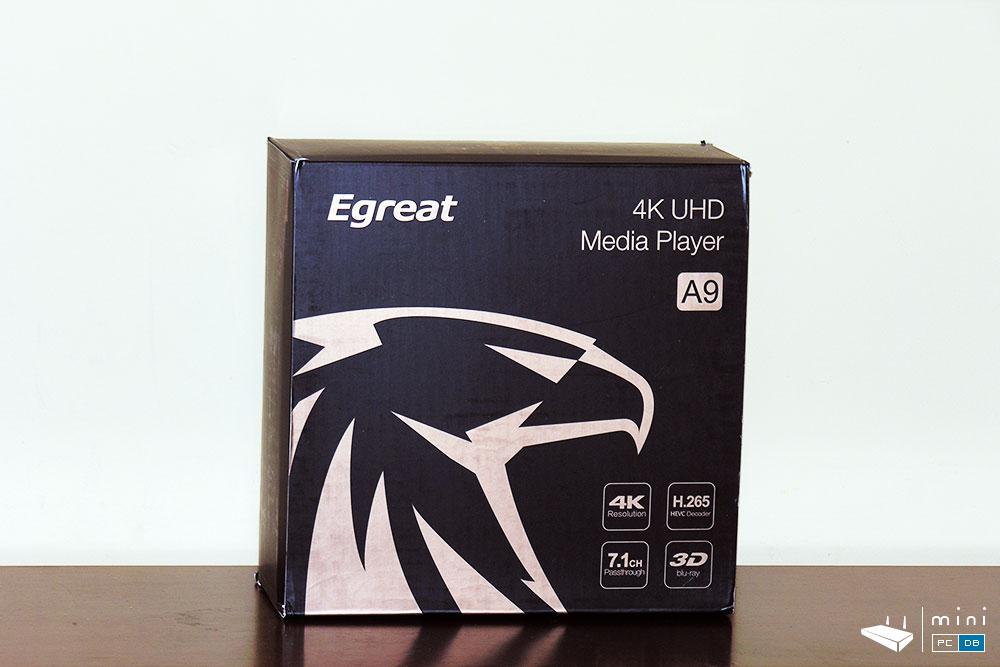 Egreat A9 unboxing