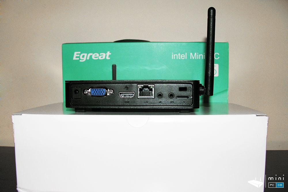 Egreat I6:VGA, HDMI, LAN
