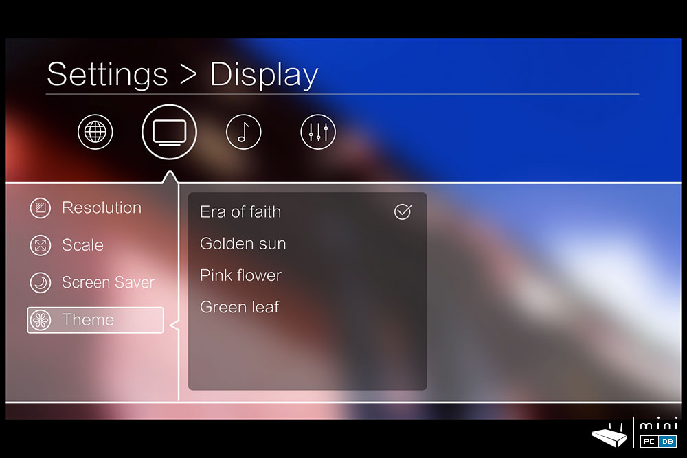 Egreat R6S-II themes settings