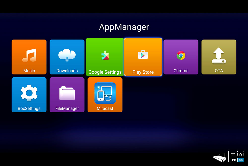 Himedia Q10 Pro App manager