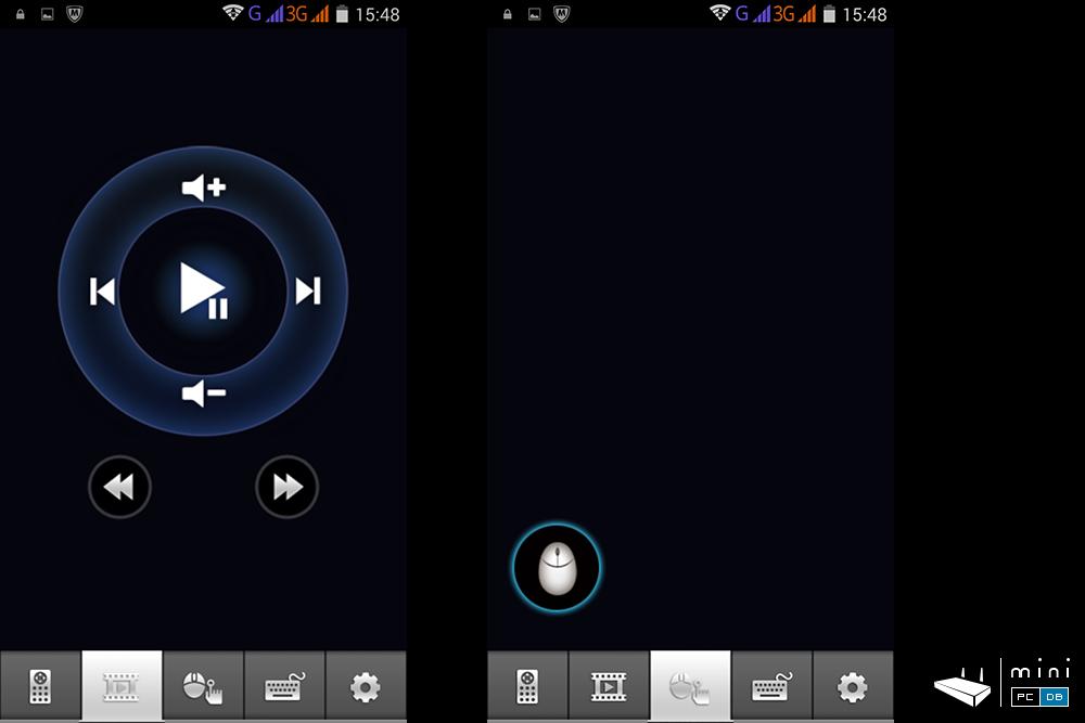 Minix U1 remote app