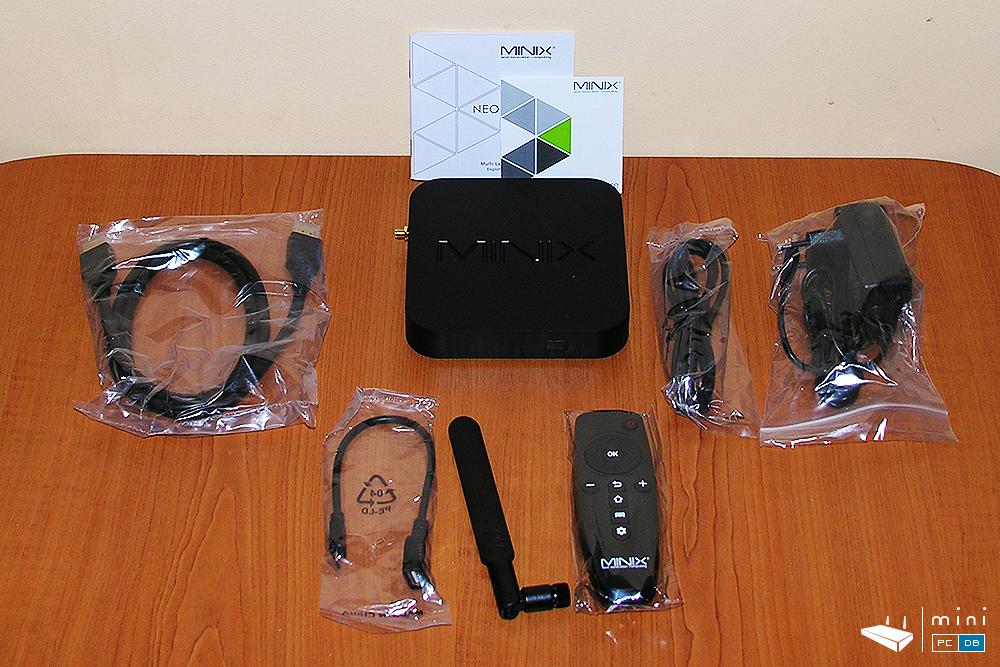 Minix U1 accessories