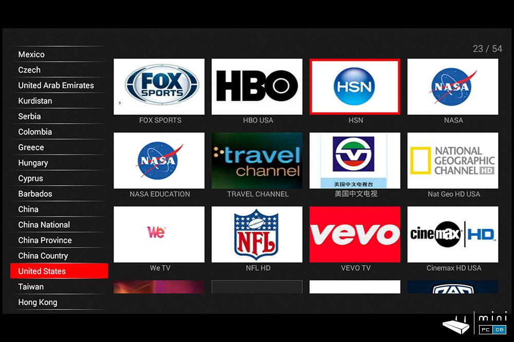 Nexbox N9 CloudTV app