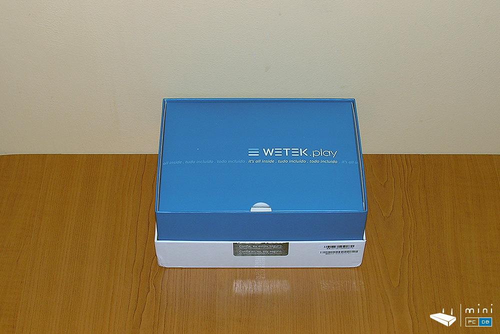 Wetek Play unboxing