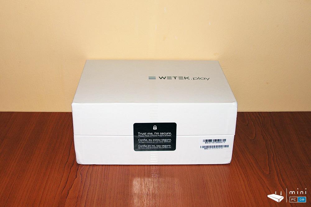 Wetek Play box