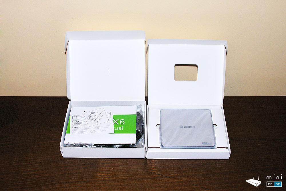 Zidoo X6 Pro box contents